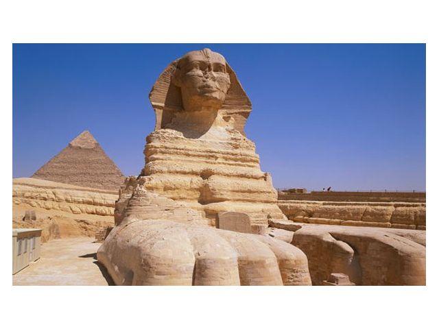 Достопримечательность 'Большой Сфинкс' Каир