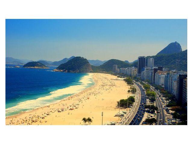 Достопримечательность 'Пляж Копакабана' Рио де Жанейро