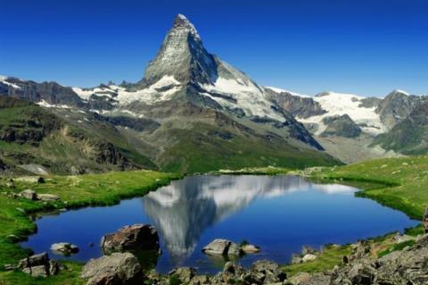 Достопримечательности Швейцарии - Маттерхорн