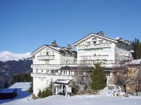 Гостиница на горнолыжном курорте Куршавель
