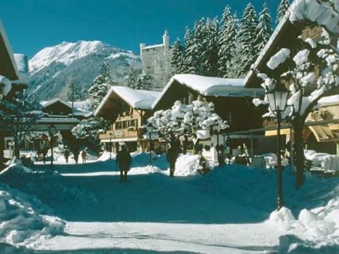 Элитный горнолыжный курорт Швейцарии Гштаад