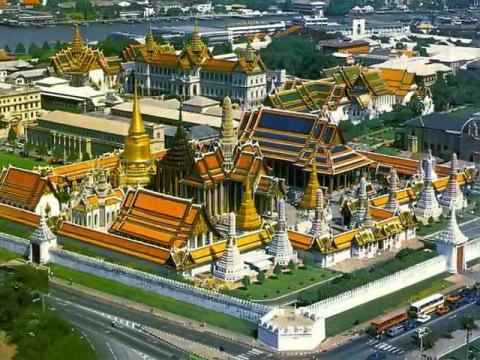 Экскурсии в большой королевский дворец в Тайланде