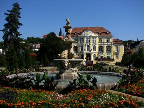 Курорт Лазне Теплице не только место где можно отлично подлечиться, но и отличное место для отдыха
