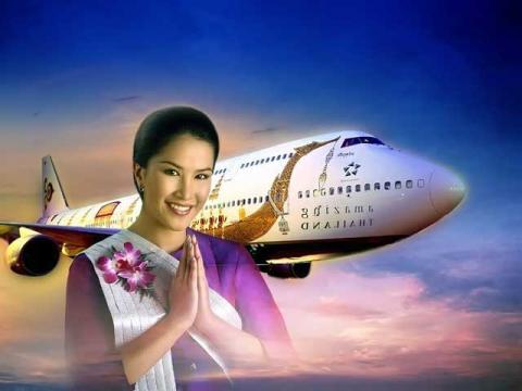 Один из вариантов перелет, это Thailand Airlines