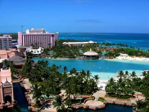 Роскошный отель на Багамских островах