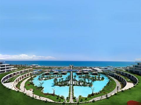 На турецком курорте Белек находится множество отличных отелей