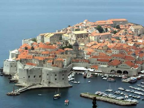 Наверное, самая известная и популярная панорама Дубровника