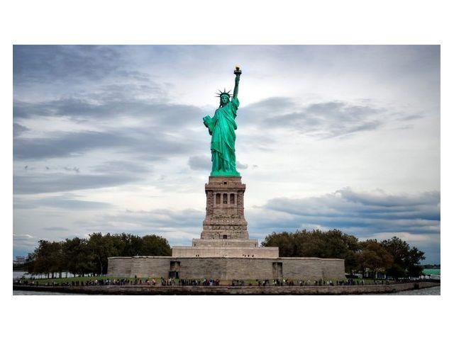 Достопримечательность 'Статуя Свободы' Нью-Йорк