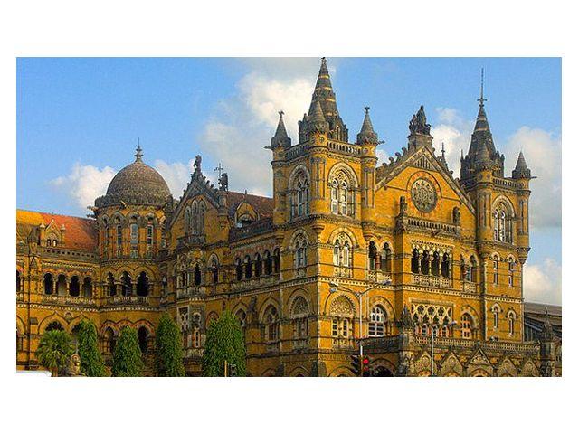 Достопримечательность 'Вокзал Виктория' Мумбаи (Бомбей)