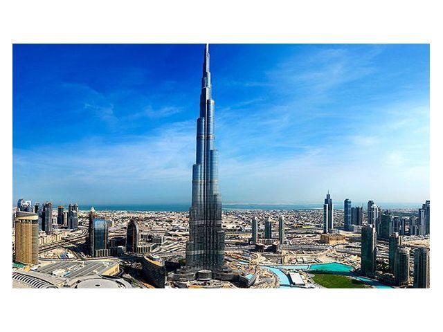 Достопримечательность 'Бурдж-Халифа' Дубай