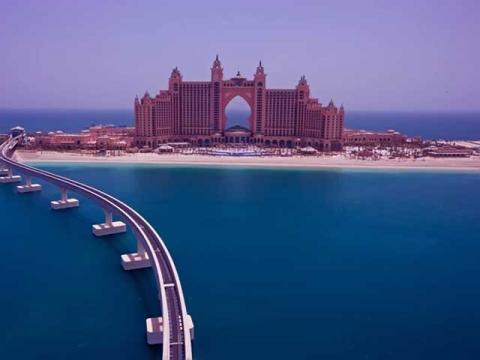 Шикарный отель Atlantis The Palm Dubai