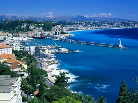 Поездка по Французской Ривьере, как часть автобусного тура Италия - Франция