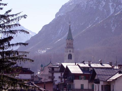 Уютный горнолыжный курорт Италии