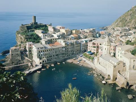 Грод Верназ на Итальянском побережье