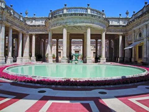 Термальный курорт Montecatini, Италия