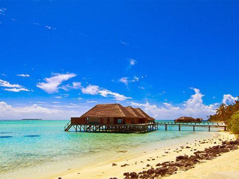 Мальдивы, семейный отель на воде