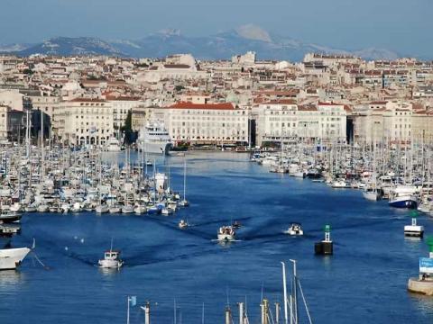 Марсель крупнейший порт Франции