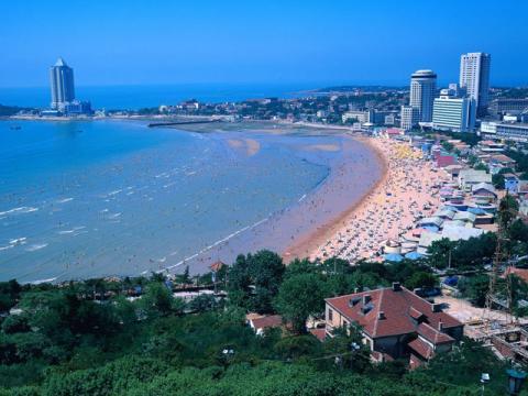 Китайские морские курорты весьма популярны и многолюдны