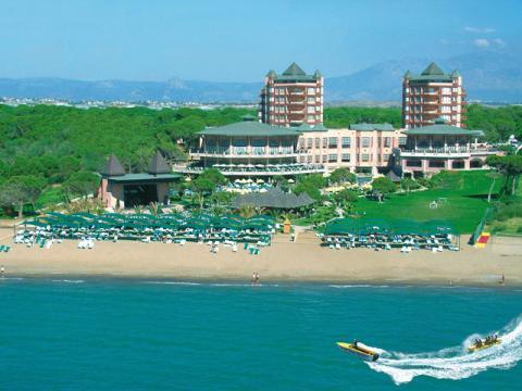 Во время отдыха в Турции можно отдохнуть в хорошем отеле