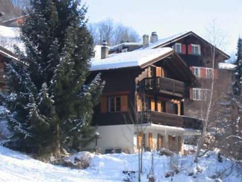 Один из вариантов отеля для лыжников курорта Фиш