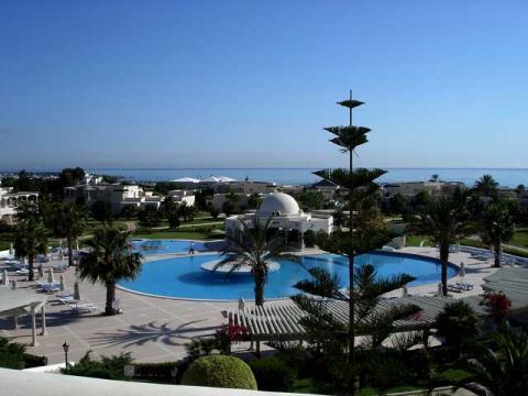 Многие отели в Тунисе имеют ярко выраженные арабские черты