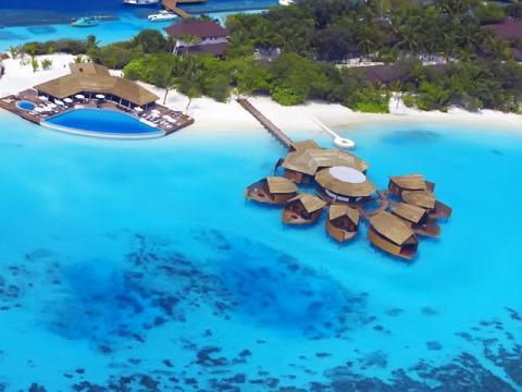Панорама отеля Мальдивы
