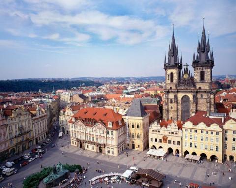 Всегда прекрасная и гостепрримная столица Чехии