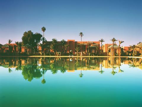 Марокко очень самобытный и по-своему красивый курортный регион.