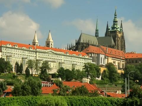 Сердце Праги и всей Чехии величественный Пражский Град