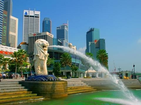 Сингапур красиво неповторим своим современным обликом