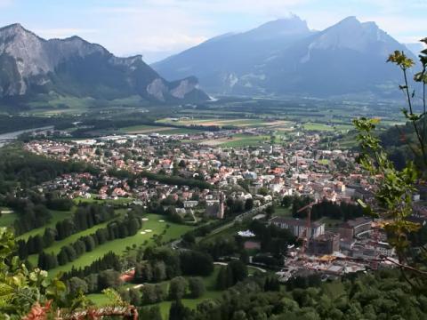 Швейцария, термальный курорт Bad-Ragaz