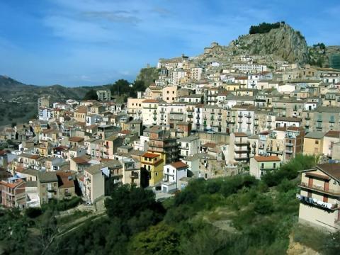 Вид на столицу Кипра город Никосия
